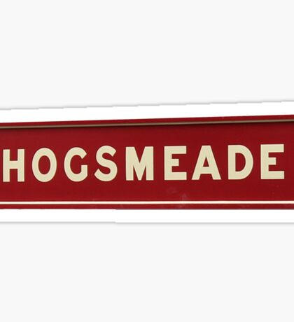 Hogsmeade Sticker