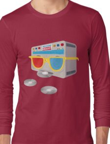 Retro player [cd] Long Sleeve T-Shirt