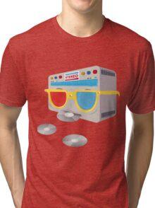Retro player [cd] Tri-blend T-Shirt