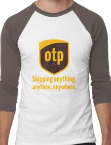 OTP - shipping anything, anytime, anywhere Men's Baseball ¾ T-Shirt