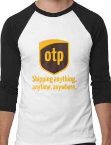 OTP - shipping anything, anytime, anywhere Men's Baseball ¾ T-Shirt