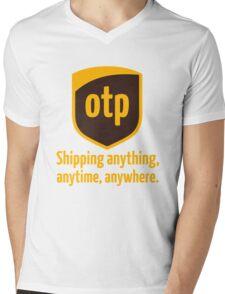 OTP - shipping anything, anytime, anywhere Mens V-Neck T-Shirt