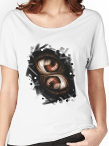 Twins - Brown Eyes Women's Relaxed Fit T-Shirt