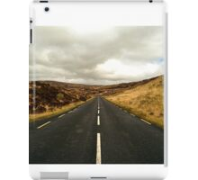 Empty Road Donegal iPad Case/Skin