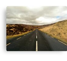 Empty Road Donegal Metal Print