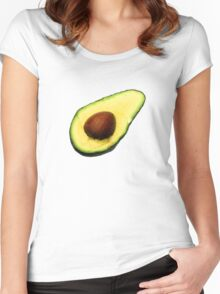 Cool Avocado Women's Fitted Scoop T-Shirt