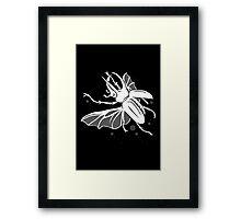 Flight Of The Rhino Framed Print