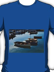 Small Boats in Lyme Harbour Dorset UK T-Shirt