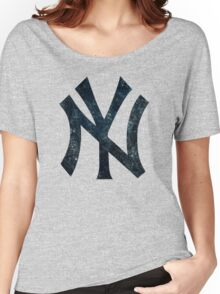 °BASEBALL° NY Yankees Women's Relaxed Fit T-Shirt