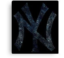 °BASEBALL° NY Yankees Canvas Print