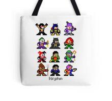 8-bit Gotham Tote Bag