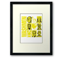 The Washmen! Framed Print