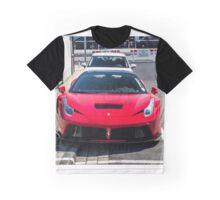 Ferrari 458 Italia Prior Design Graphic T-Shirt