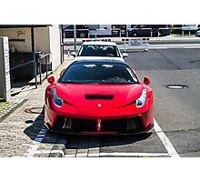 Ferrari 458 Italia Prior Design Photographic Print