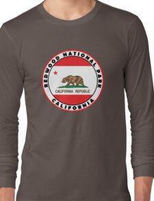 REDWOOD NATIONAL PARK CALIFORNIA REDWOODS MOUNTAINS HIKE HIKING CAMP CAMPING 2 Long Sleeve T-Shirt