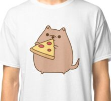 Pupsheen Eating Pizza Classic T-Shirt