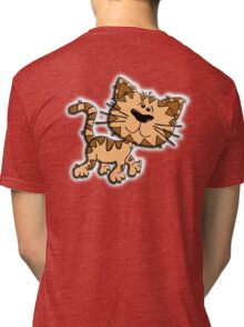 DOG, Cartoon, K9, Canine Tri-blend T-Shirt