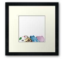 Sweets UP! Framed Print