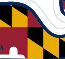 Vineyard Vines Maryland Sticker