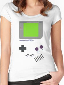 Oldschool Gameboy Shirt Women's Fitted Scoop T-Shirt