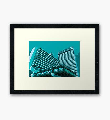 Piccadilly Plaza, Manchester Framed Print