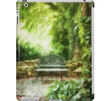 A Restful Retreat iPad Case/Skin