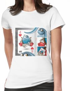 WCsaur / Cards for my arts Womens Fitted T-Shirt