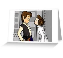 To Give A Scoundrel A Kiss Greeting Card