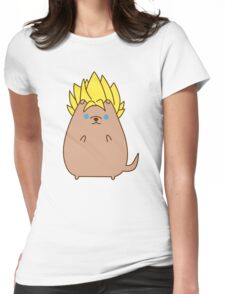Super Sayian Pupsheen Womens Fitted T-Shirt