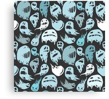 Ghosts party Canvas Print