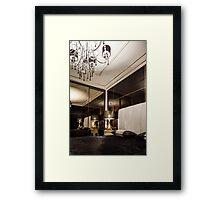 luxury Interior bedroom  Framed Print