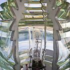 Fresnel Lens, Pemmaquid Point Lighthouse, Maine by Kenneth Keifer