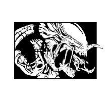 Pred-alien Photographic Print