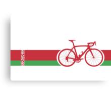 Bike Stripes Belarus Canvas Print