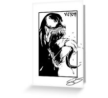 Venon Greeting Card