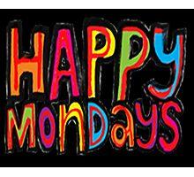 happy mondays logo Photographic Print