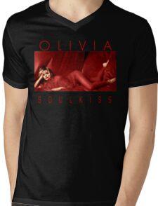 Olivia Newton-John - 1980s -Soul Kiss Mens V-Neck T-Shirt
