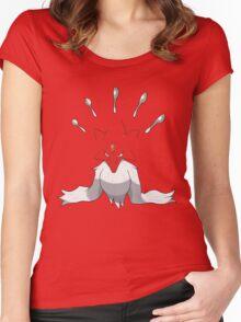 Mega Alakazam Shirt Women's Fitted Scoop T-Shirt