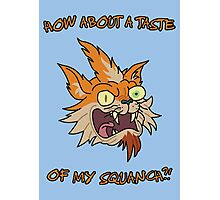 Rick and Morty – How About a Taste of My Squanch?! Photographic Print