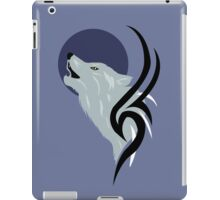 Howling Wolf Vector iPad Case/Skin