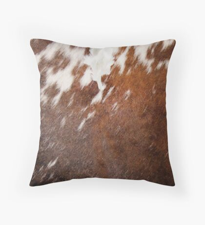 Cruelty Free Cowhide : design 2 Throw Pillow