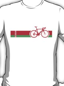 Bike Stripes Belarus T-Shirt