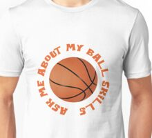 Basketball Theme Unisex T-Shirt