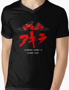8-Bit Neo Tokyo Mens V-Neck T-Shirt