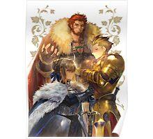 Fate Zero: Saber Rider Archer Poster Poster