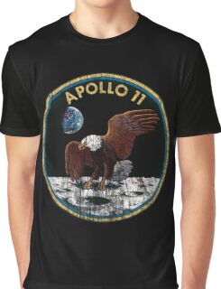 Apollo 11 grunge | space Graphic T-Shirt