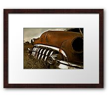 Abandoned 1950 Buick Framed Print