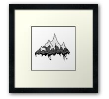 Great Mountain Framed Print
