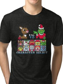 Christmas Fighter Tri-blend T-Shirt