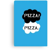 Pizza - TFIOS Canvas Print